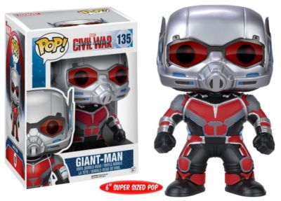 Personaggio in vinile grande Giant-Man serie Pop! by Funko, Captain America: Civil War