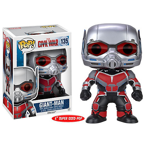 Grande figurine Giant-Man Pop ! Figurine Funko en vinyle, Captain America : Civil War