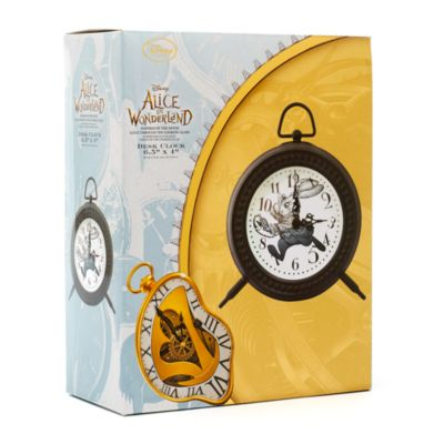 Alice i Spegellandet skrivbordsklocka