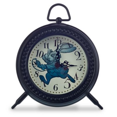 Alice Through The Looking Glass Desk Clock