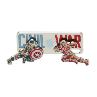 Ensemble de 2 pin's en édition limitée Captain America : Civil War