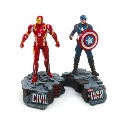 Captain America og Iron Man figur, begrænset antal