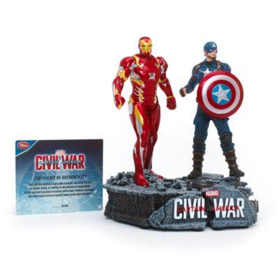 Figurine Captain America et Iron Man en édition limitée