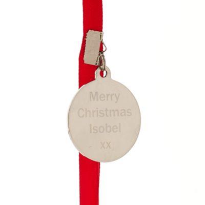 Decorazione natalizia Topolino con cornice per foto