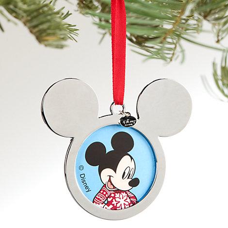 Mickey Mouse julepynt med plads til foto