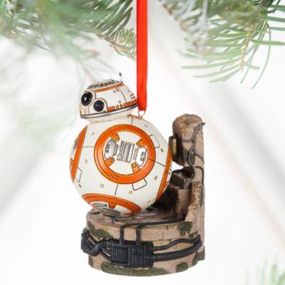 Star Wars - BB8 Weihnachtsdekoration mit Leuchtfunktion