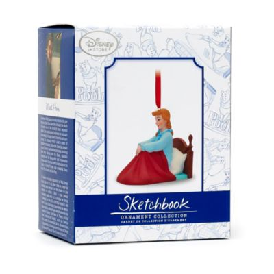 Decorazione natalizia Cenerentola, collezione Art of Disney Animation