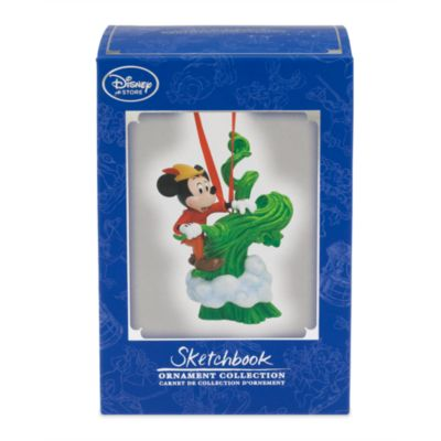 Mickey and the Beanstalk Ornament