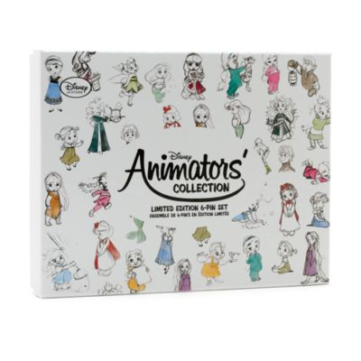 Ensemble de 6 pin's en édition limitée de la collection Disney Animators