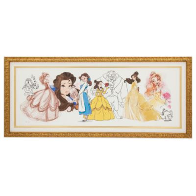 Art of Belle Limited Edition Framed Canvas