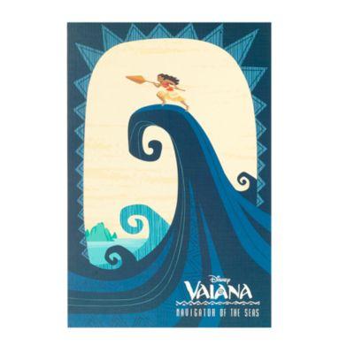 Lot de 4 lithographies Vaiana en édition limitée