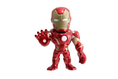 The First Avenger: Civil War - Iron Man Metals Die Cast-Actionfigur (ca. 10 cm)
