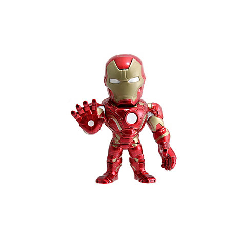 The First Avenger: Civil War - Iron Man Metals Die Cast-Actionfigur (ca. 10 cm)