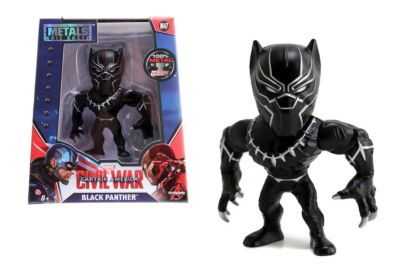 The First Avenger: Civil War - Black Panther Metals-Die Cast-Actionfigur (ca. 10 cm)