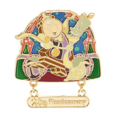 Beauty And The Beast 25th Anniversary Limited Edition Pin
