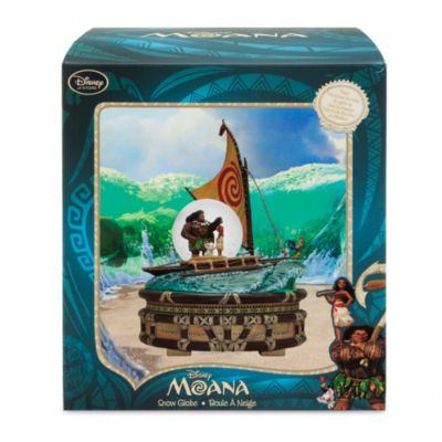 Moana Singing and Light Up Snow Globe