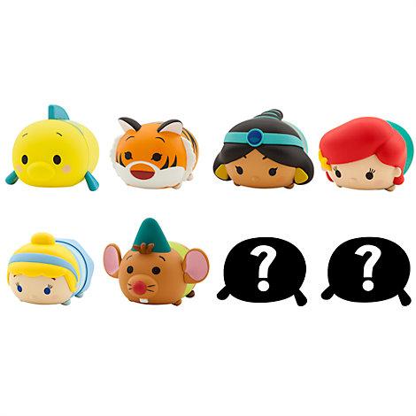 Figuras coleccionables Tsum Tsum de vinilo, colección Princesas Disney y amigos