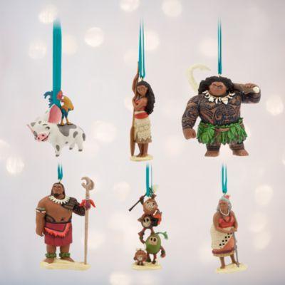 Vaiana ornament, set med 6