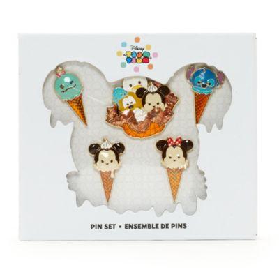 Set di spillette gelato con personaggi Tsum Tsum