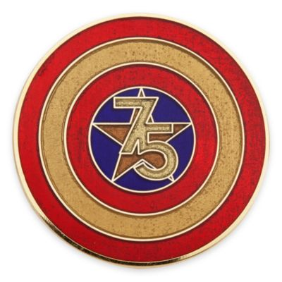 Captain America 75th Anniversary Limited Edition Pin Set