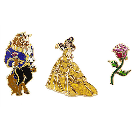 3 pin's Art of Belle, en édition limitée