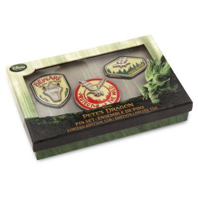 3 pin's Peter et Elliott le Dragon, en édition limitée