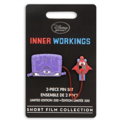 Inner Workings-pins i begränsad upplaga, set med 2