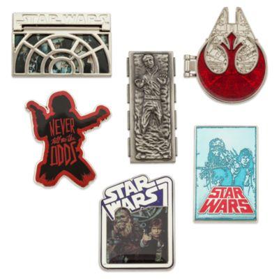 Set de pines de Han Solo, edición limitada de Star Wars
