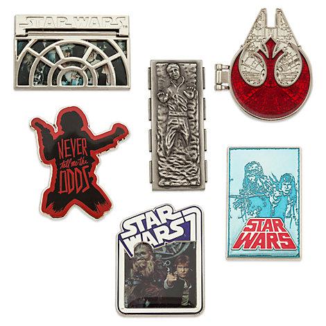 Star Wars Han Solo Pinsæt, begrænset oplag
