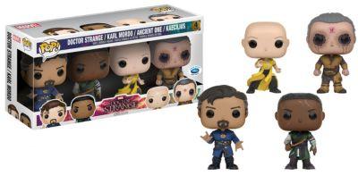 Personaggi in vinile Dottor Strange serie Pop! di Funko edizione limitata, set di 4