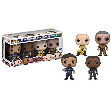 Doctor Strange Pop! vinylfigurer, sæt med 4 stk.