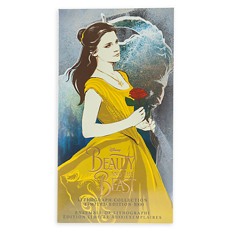 Beauty and the Beast Limited Edition Lithographs, Set of 3