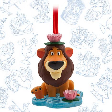 Colección adornos bocetos Lambert el león