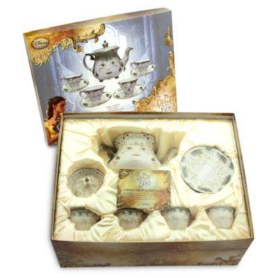 Juego de té de porcelana fina de La Bella y la Bestia Edición Limitada