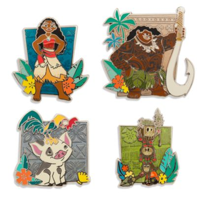 Set di spillette Oceania in edizione limitata