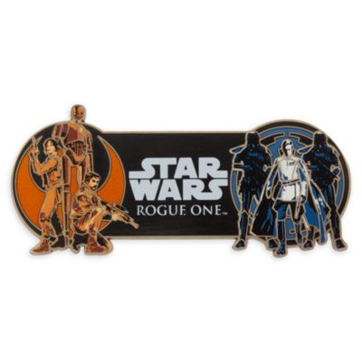Pin's grande taille Rogue One: A Star Wars Story, en édition limitée