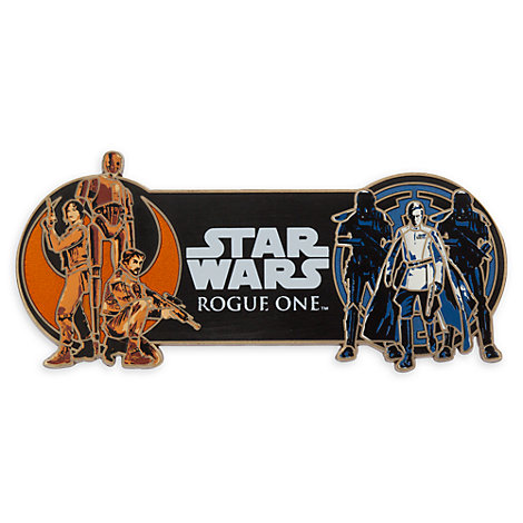 Rogue One: A Star Wars Story Limited Edition Large Cast Pin