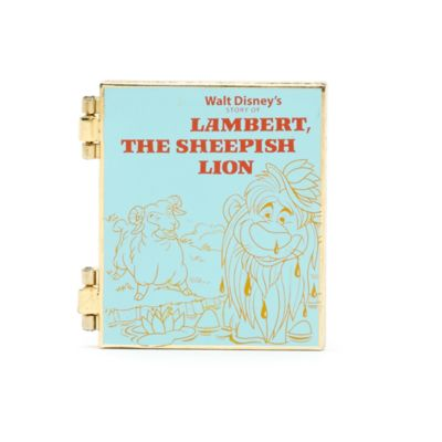 Lambert the Sheepish Lion Pin
