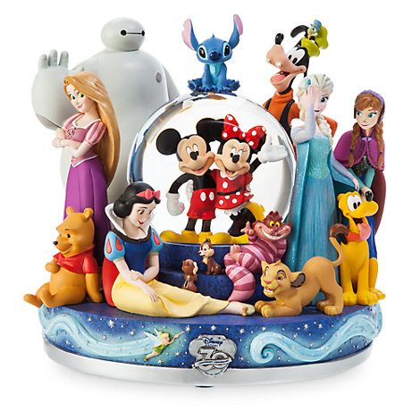 Disney Store 30th Anniversary Commemorative Snow Globe