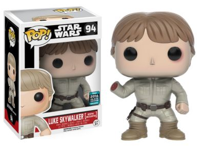 Personaggio in vinile serie Pop! Funko Luke Skywalker Bespin Encounter, Star Wars