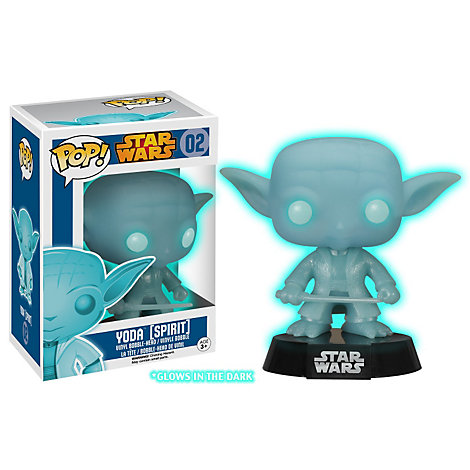 Yoda Glowing Spirit Pop! Vinyl Figure by Funko, Star Wars