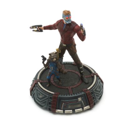 Star-Lord, Rocket and Groot Limited Edition Figurine, Guardians of the Galaxy Vol. 2