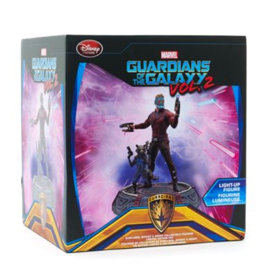 Star-Lord, Rocket og Groot figurer fra Guardians of the Galaxy Vol. 2, i begrænset udgave.