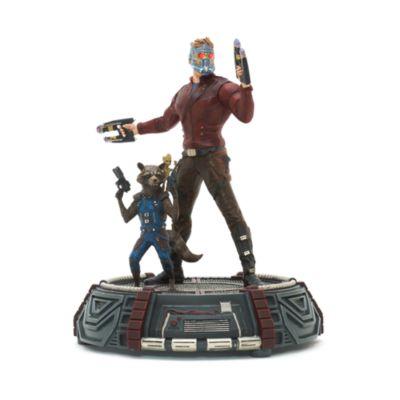 figurines star lord rocket et groot en dition limit e gardiens de la galaxie vol 2. Black Bedroom Furniture Sets. Home Design Ideas