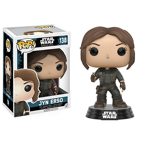 Jyn Erso Pop ! Figurine en vinyle par Funko, Rogue One : A Star Wars Story
