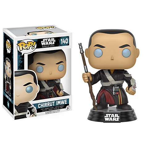 Chirrut Imwe Pop ! Figurine en vinyle par Funko, Rogue One : A Star Wars Story