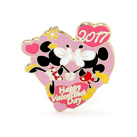 Pin de San Valentín de 2017 de Mickey y Minnie Edición Limitada