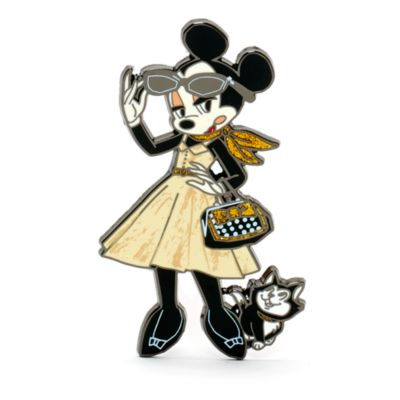 Minnie Mouse Signature Collection Limited Edition Pin Set