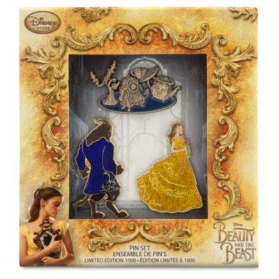 Die Schöne und das Biest - Anstecknadeln in limitierter Edition, 3er-Set