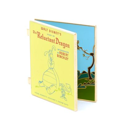 The Reluctant Dragon Pin, Disney Storybook Classics Collection